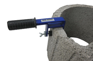 Planting stone lifter for laying hollow chamber stones or planters