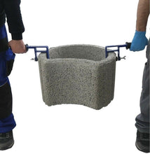 Load the image into the gallery viewer, planting stone lifter for laying hollow chamber stones or planters