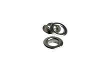 Load the image into the gallery viewer, sheet steel eyelets from IstaTools® in 10mm, 12mm or 17mm internal dimensions