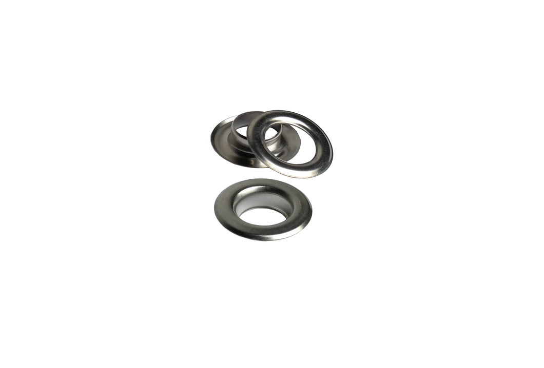 Sheet steel eyelets from IstaTools® in 10mm, 12mm or 17mm inside dimensions