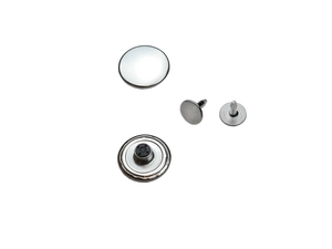 Jeans buttons, stainless, non-sewing, 14mm, 17mm, 20mm, metal buttons, fixed base