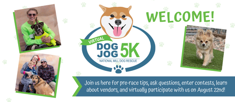 Virtual Dog Jog 5k