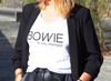 "T-shirt femme ""Bowie is my therapy"""