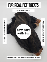 Load image into Gallery viewer, Cow Ears with Fur