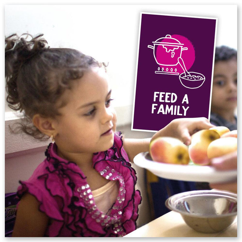 Feed a Family Alternative Gift