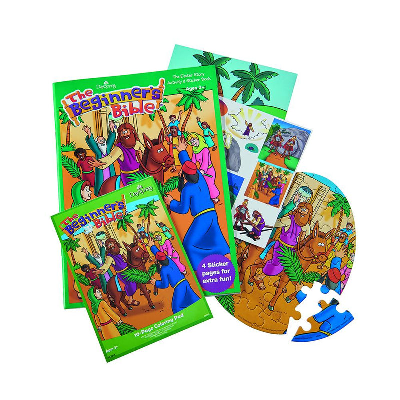 The Beginner's Bible Activity Pack