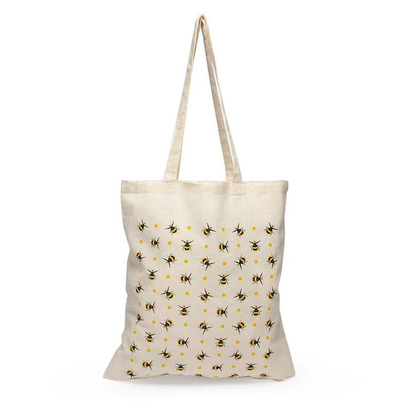 Bee Print Tote Bag