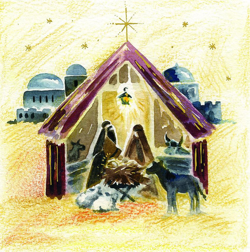 O Holy Night Christmas cards - pack of 10