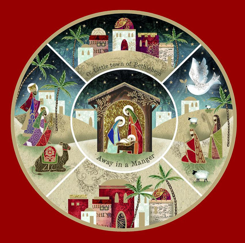 Nativity Scenes Christmas cards - pack of 10
