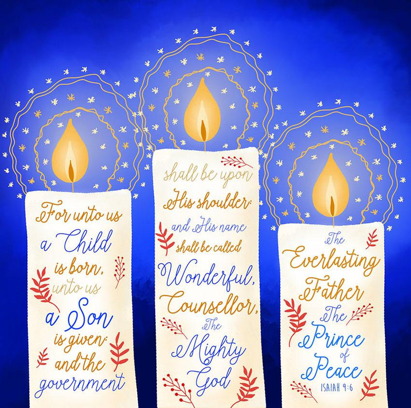 For Unto Us Christmas cards - pack of 10