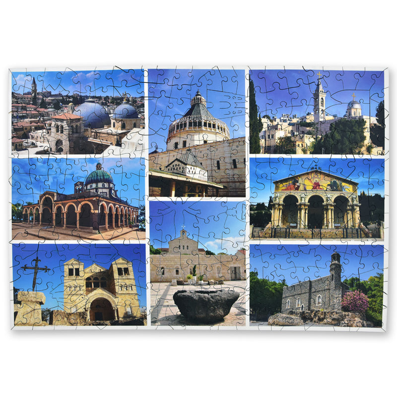 Churches of the Holy Land Jigsaw completed