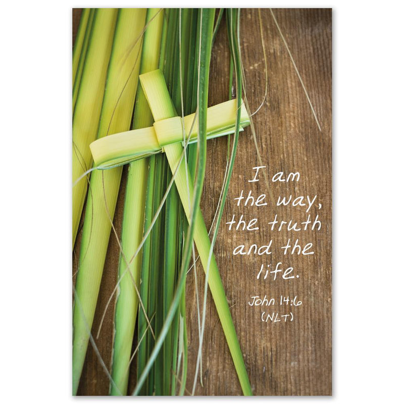 Palm Cross Easter Card