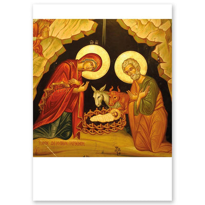 Nativity Icon Small Folder: Pack of 50