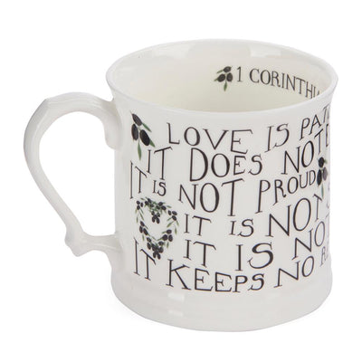 Love is Patient Bone China Mug