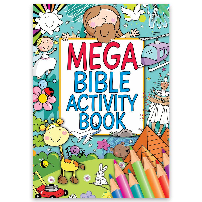 Mega Bible Activity Book - front cover