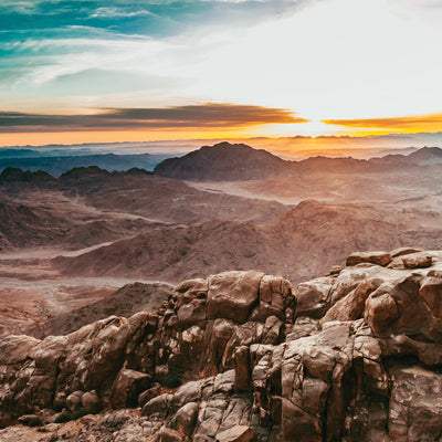 Sinai Sunrise Notecards