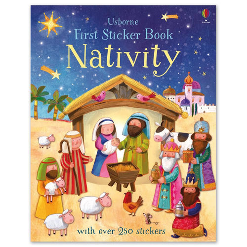 Nativity Sticker Book