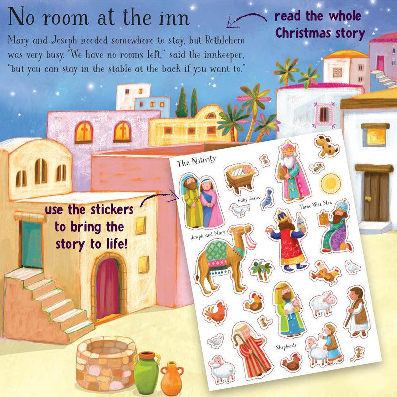 Nativity Sticker Book - sample pages