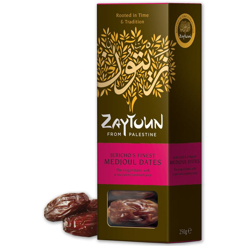250g of Jericho's Finest Medjoul Dates