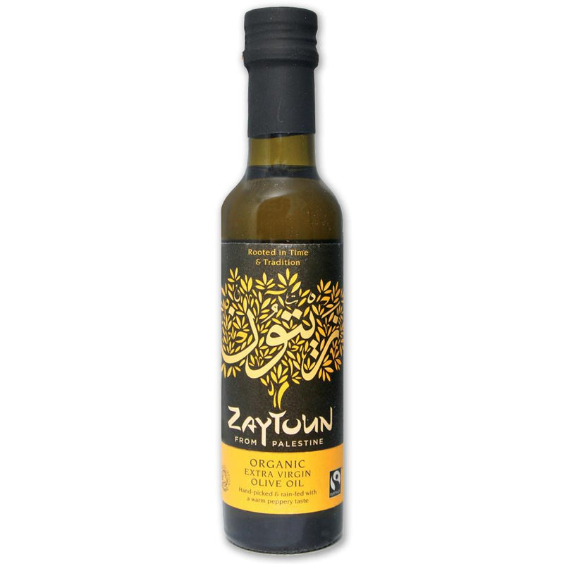 Fairtrade Organic Extra Virgin Olive Oil: 250ml