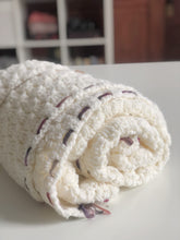 Load image into Gallery viewer, Scraps of Love Solid Color Hand Crocheted Blankets