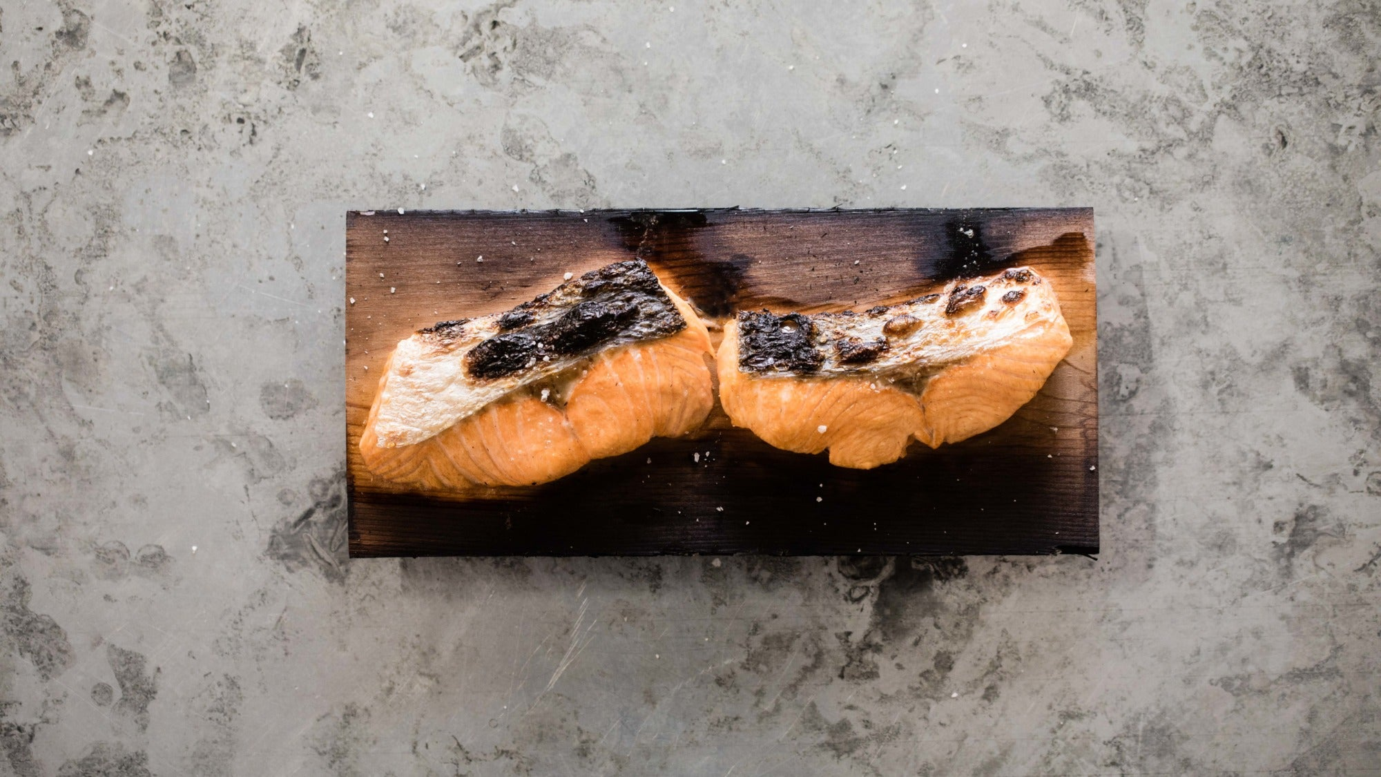 Plank Cooked Salmon