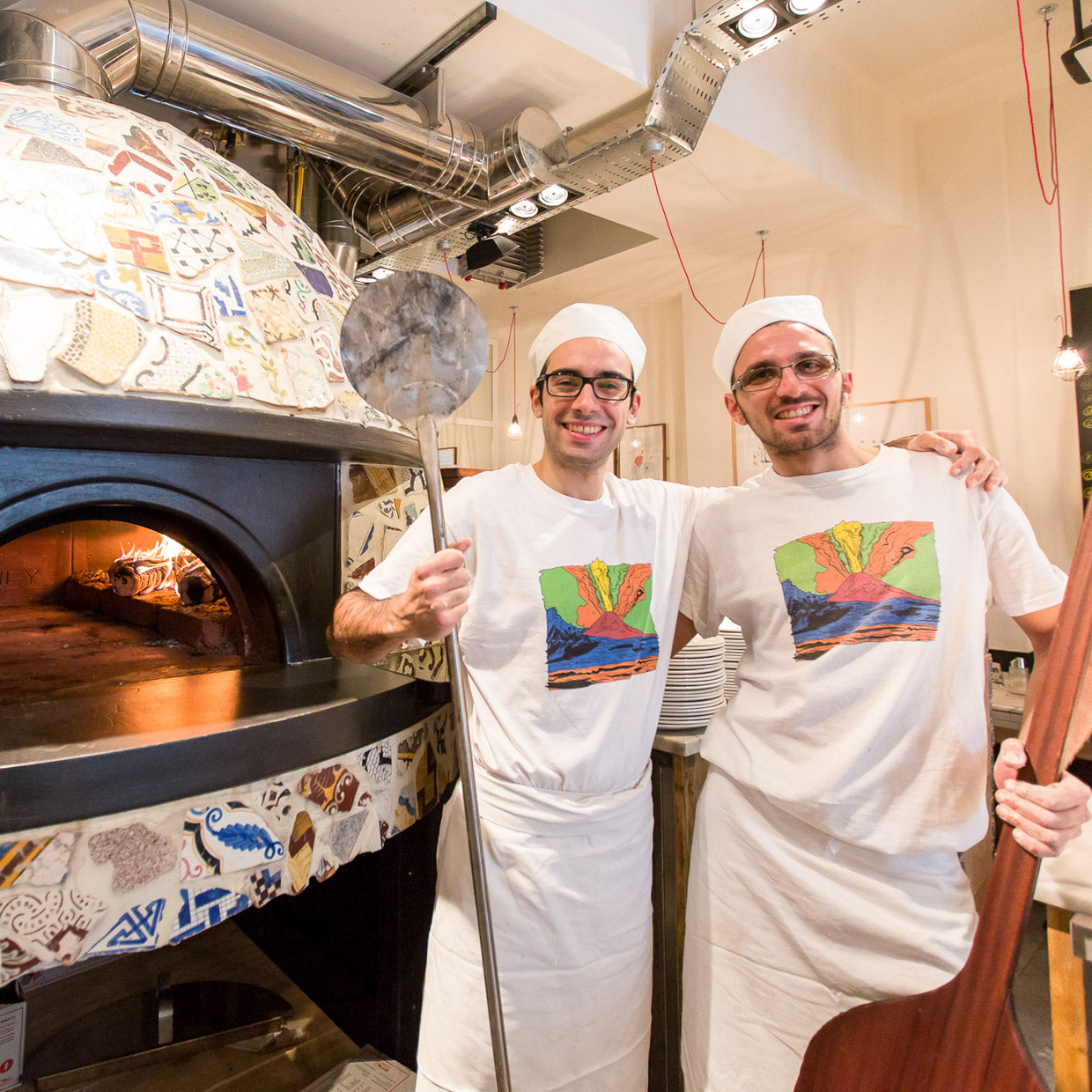 Commercial pizza oven - pizza pilgrims