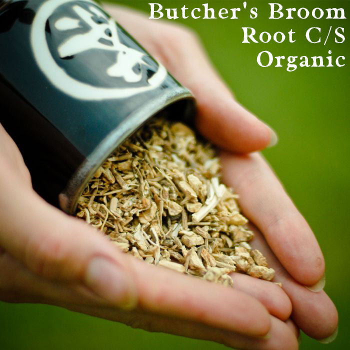 Butcher's Broom Root, Cut/Sifted, Organic