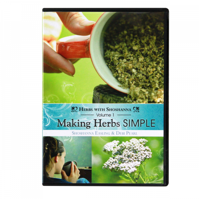 Making Herbs Simple Volume 1, DVD