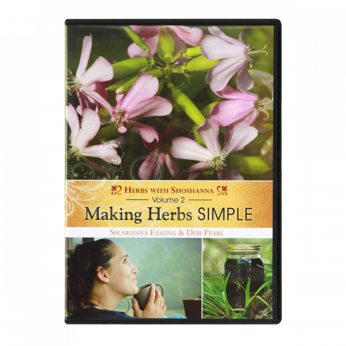 Making Herbs Simple Volume 2, DVD