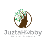 JuztaHobby Logo, natural products, pets, healing