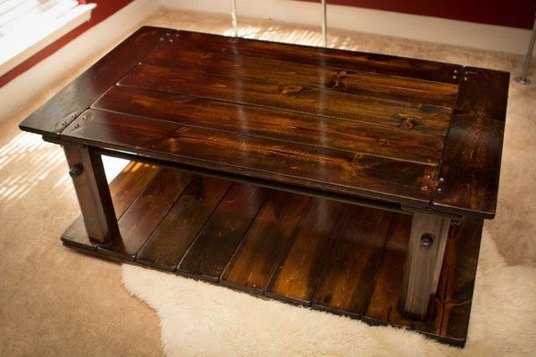 Coffee Table - Industrial Rustic Coffee Table