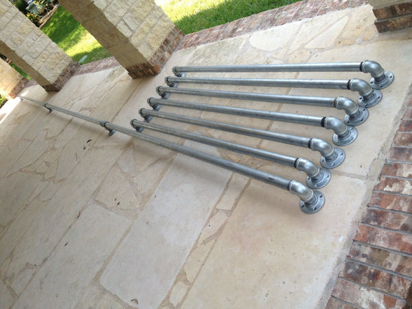 "Curtain Rod - Heavy Duty Industrial Chic Curtain Rods (1"" Pipe)"