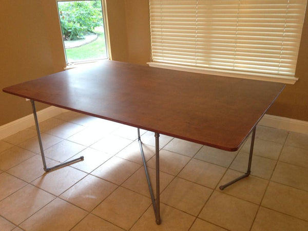 Dining Table - Modern Industrial Dining Table