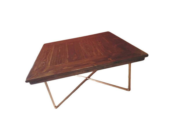 Dining Table - Square Industrial Dining Table