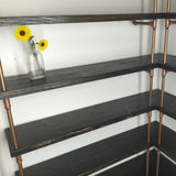 Shelving - Corner Pipe Shelf