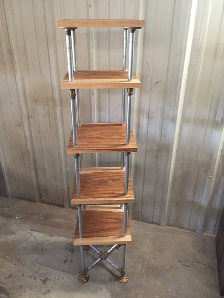 Shelving - Freestanding Industrial Etagere Shelf