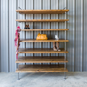 Shelving - Industrial Chic Closet Shelving
