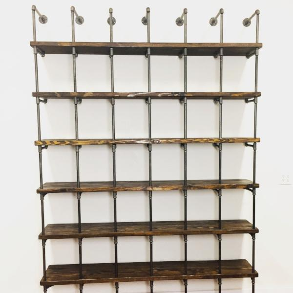Industrial Cube Shelving
