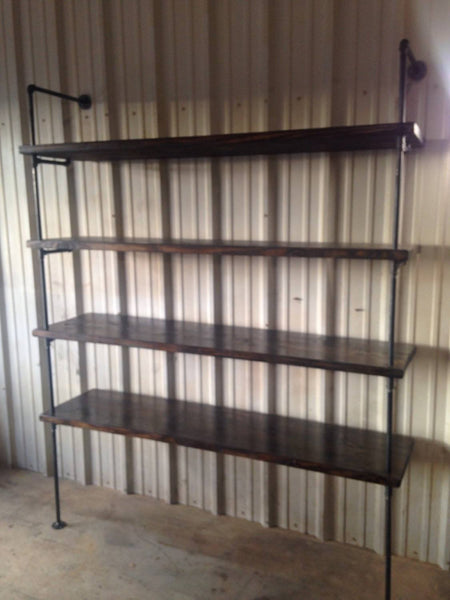 Shelving - Industrial Pipe Retail Shelving