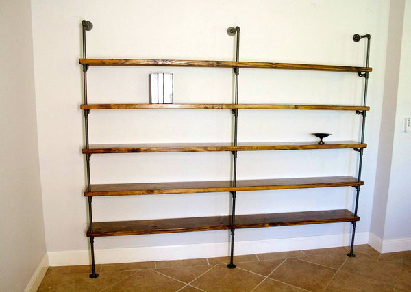 Shelving - Industrial Pipe Shelving
