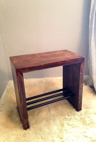 Side Table - Modern Industrial Side Table