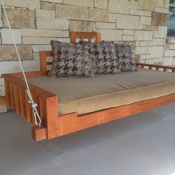 Swing Bed - Christianson Mahogany Swing Bed