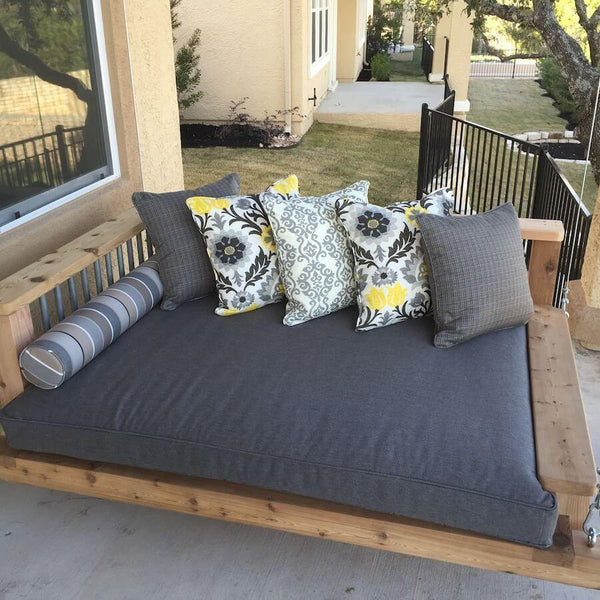 foley swing bed chaise - Porch Swing Bed
