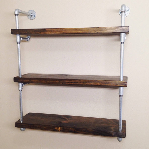 Wall Shelves - Industrial Pipe Wall Shelf
