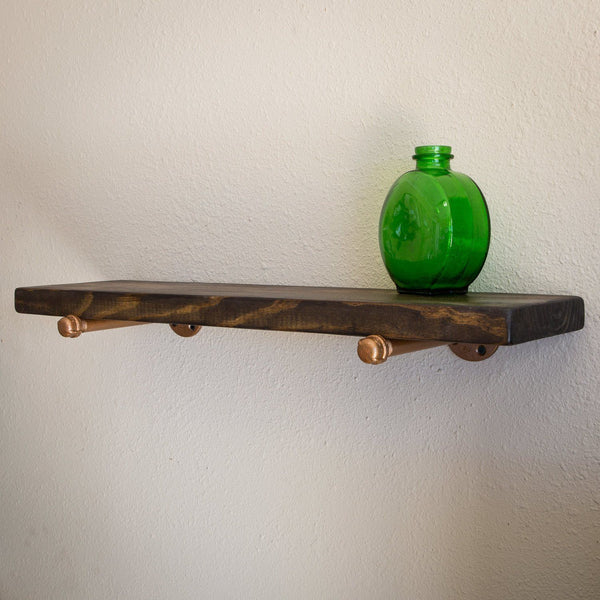 Wall Shelves - Large Industrial Pipe Floating Shelf