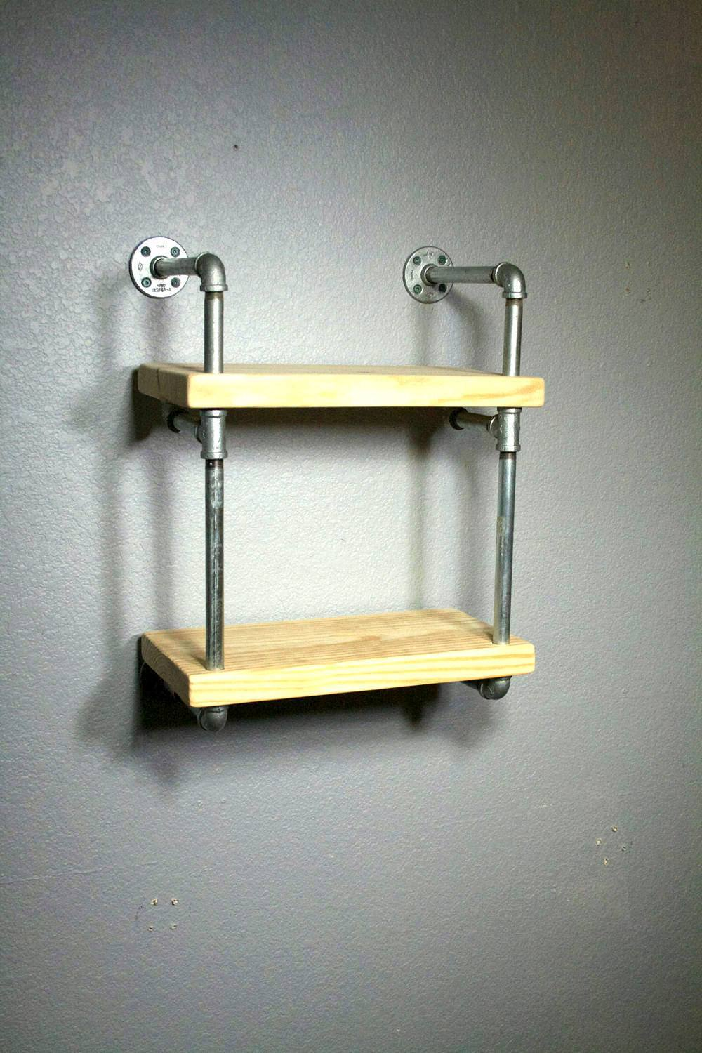 Wall shelves miniraw industrial wall mounted pipe shelf 1egv1483395581 amipublicfo Image collections
