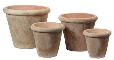 cone-shaped-terracotta-pot-with-rim-whitewash-effect
