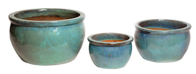 turquoise-bowl-shaped-glazed-terracotta-pot-with-rim