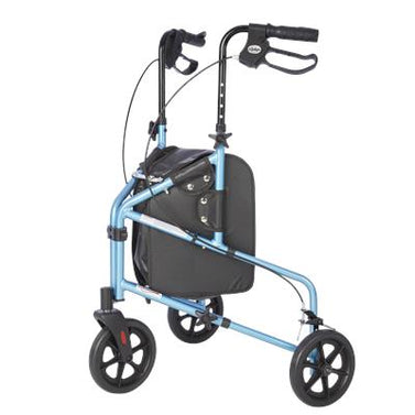 Rally Lite - Aluminum 3 Wheel Walker with Tote